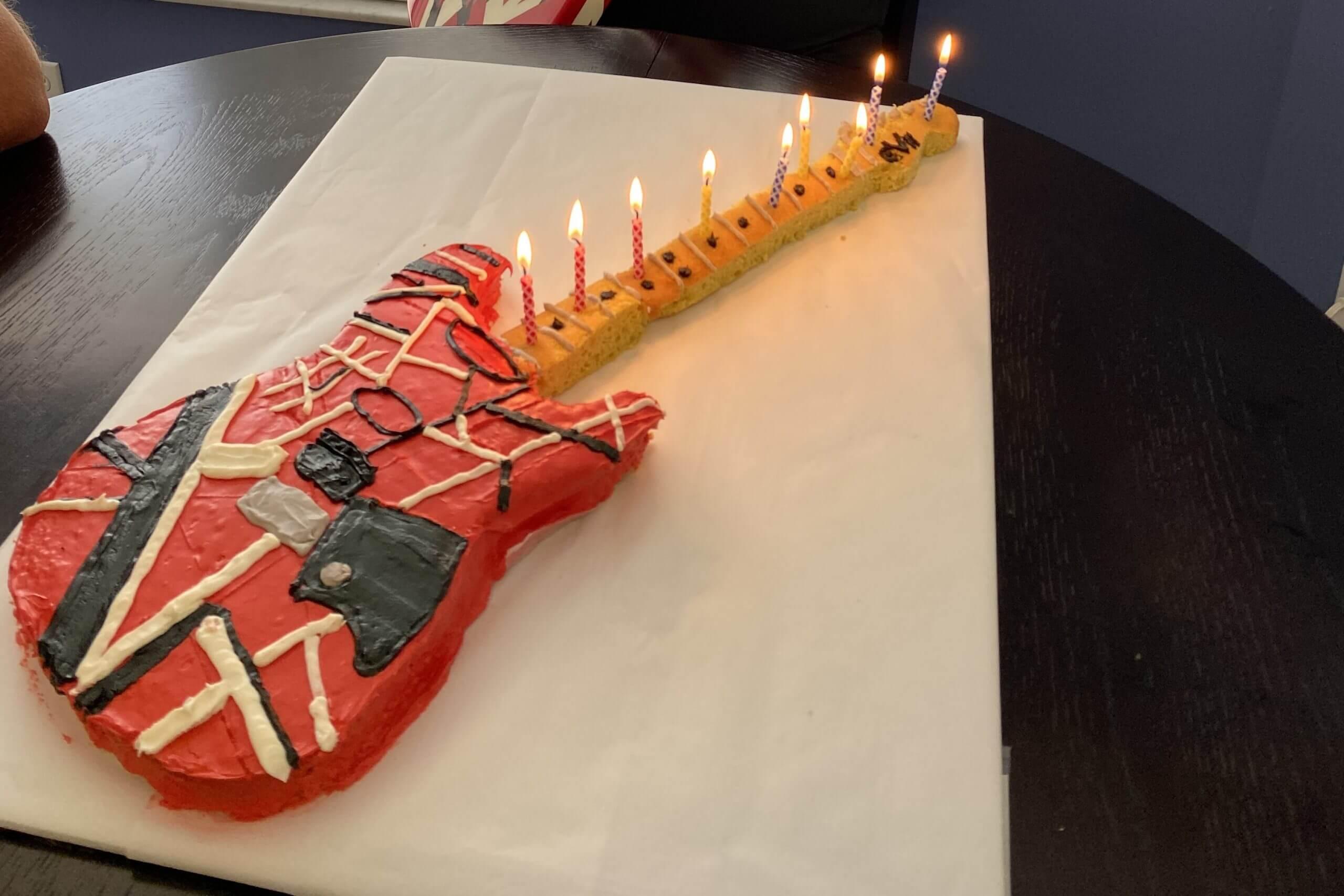 Susan prides herself on her birthday cake baking skills...