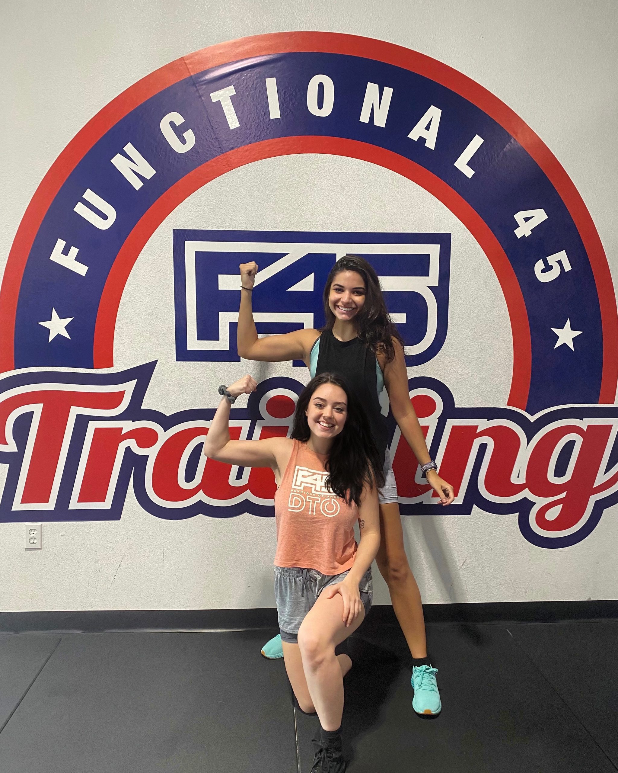 Hannah and friends like to train!