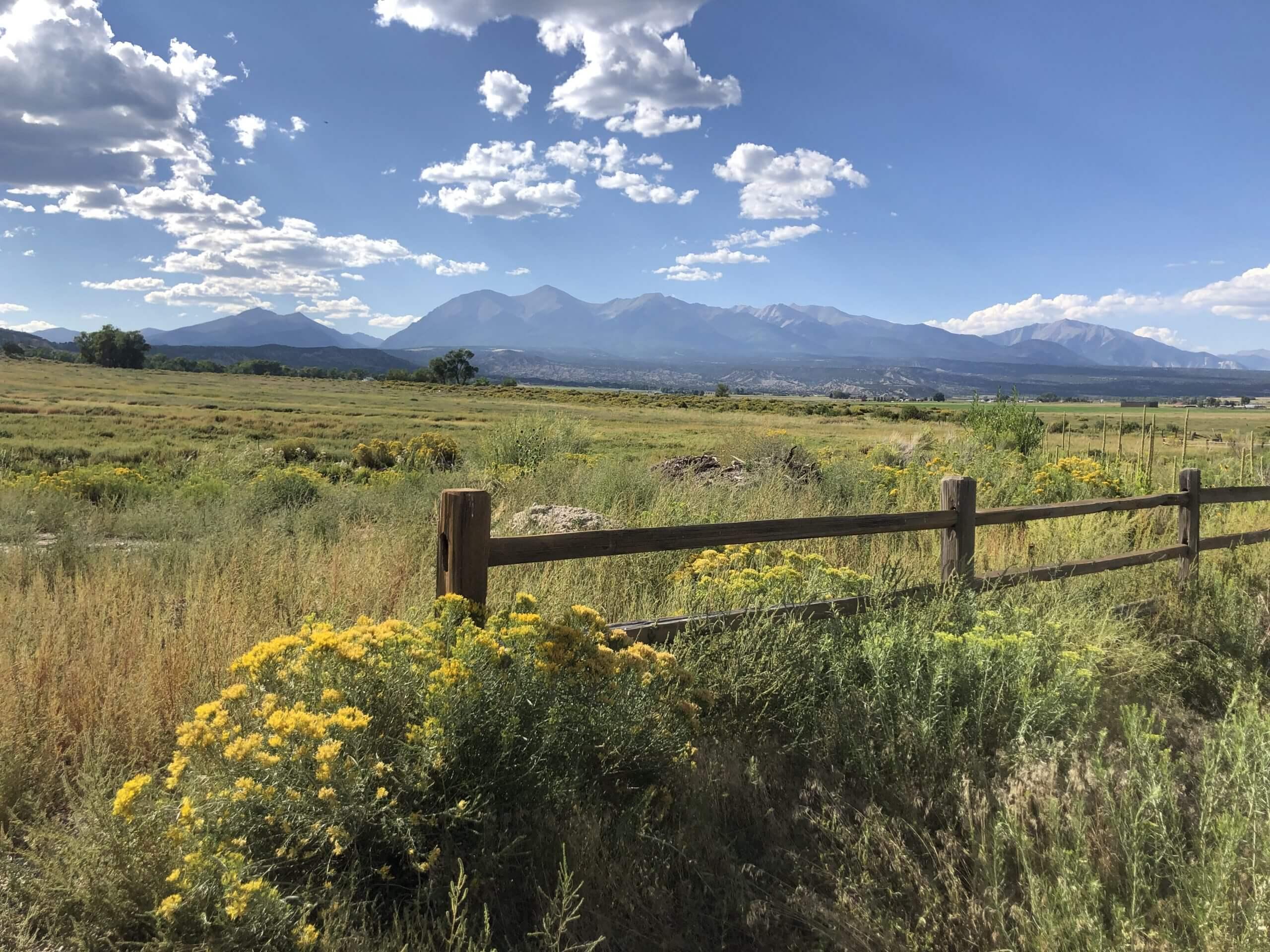 Colorado mountain views...
