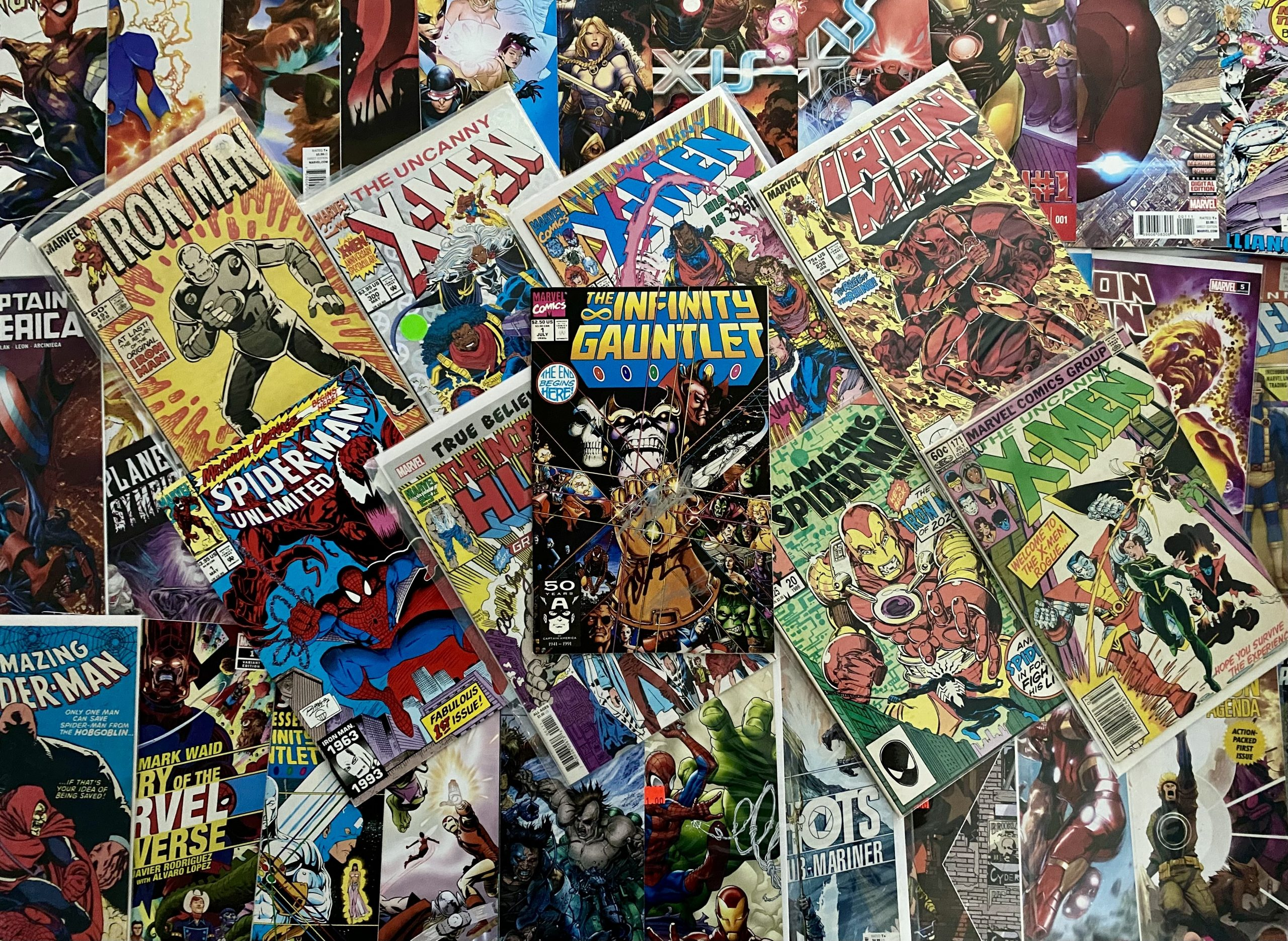 David is a comic book connoisseur...